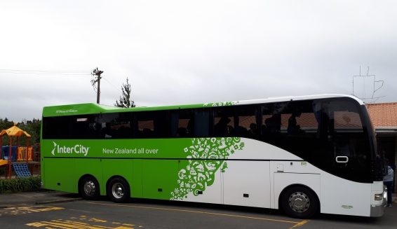 Intercity bus in New Zealand