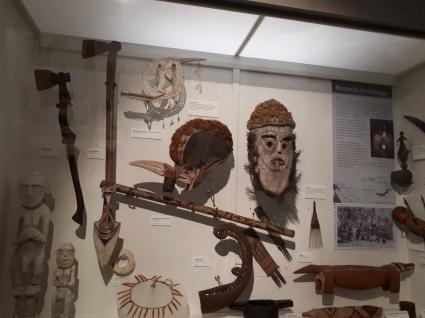 inside the museum in Dunedin